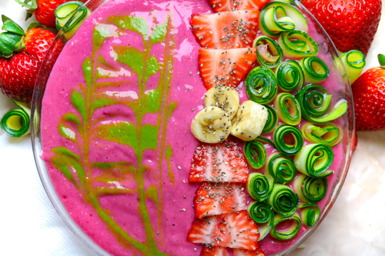 Hidden Veggies Strawberry Bowl. livingwholesarahdavis.com