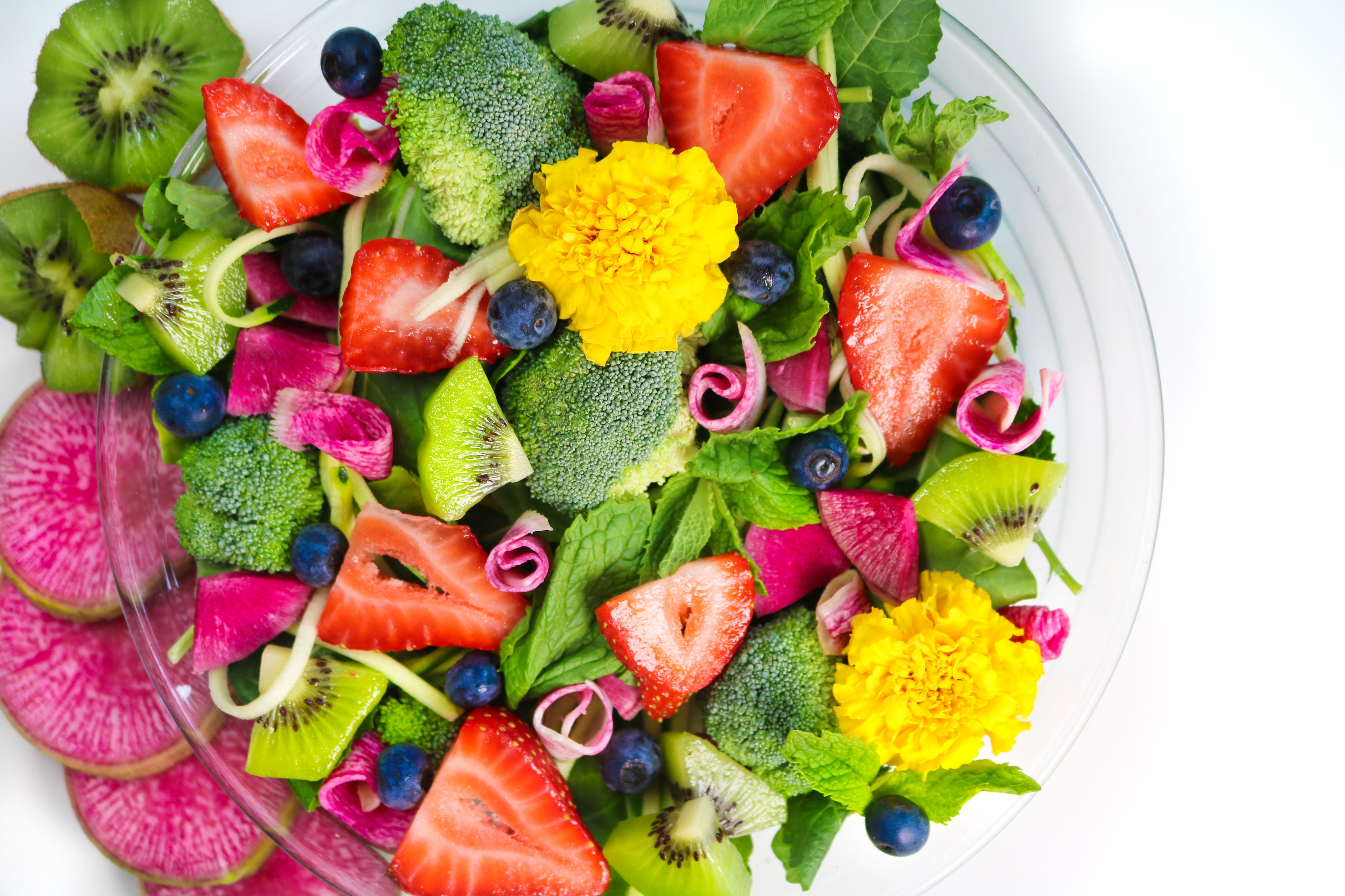 Summery Strawberry Kiwi Salad Dressing. livingwholesarahdavis.com